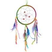 Small Decorative Rainbow Dreamcatcher