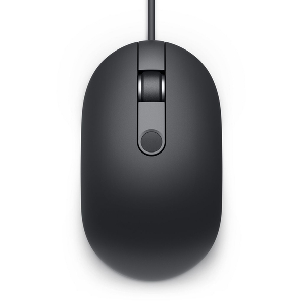Dell 570-AARY Wired Mouse with Fingerprint Reader, Black