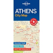 Lonely Planet Athens City Map by Lonely Planet (2018)