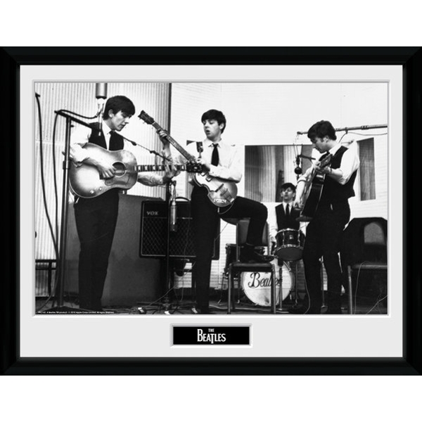 The Beatles Studio Framed 16x12 Photographic Print