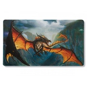 Dragon Shield Playmat- Amina (NonGlare Matte Black) Limited Edition