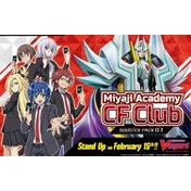 Cardfight Vanguard: VGE-V-BT03 Miyaji Academy CF Club Booster Box (16 Packs)
