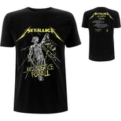 Metallica - And Justice For All Tracks Men's X-Large T-Shirt - Black