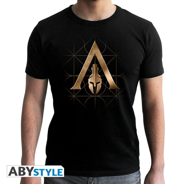 Assassin's Creed - Crest Odyssey - Men's Small T-Shirt - Black