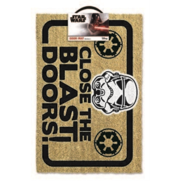 Star Wars - Stormtrooper Blast Doors Door Mat