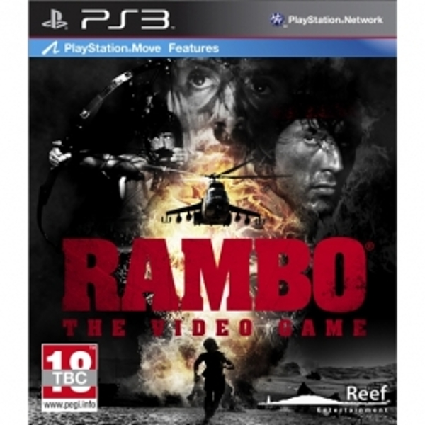 Rambo the Video Game (Move Compatible) PS3 - Image 1