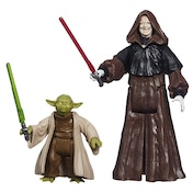 Star Wars Mission Series Action Figures Wave 4 Yoda and Darth Sidious