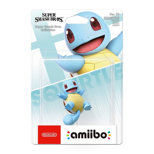 Squirtle No.77 amiibo