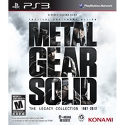 Metal Gear Solid The Legacy Collection Solus Game PS3