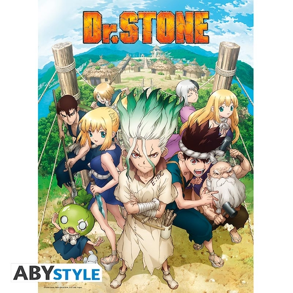 Dr Stone - Group Poster