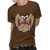 Looney Tunes - Taz Face Men's XX-Large T-Shirt - Brown
