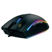 Gamdias ZEUS P1 Gaming Optical Mouse, USB, 12000 DPI, 8 Configurable Buttons, RGB Lighting
