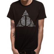 Harry Potter - Symbol Men's Medium T-Shirt - Black