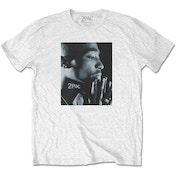 Tupac - Changes Side Photo Men's XX-Large T-Shirt - White