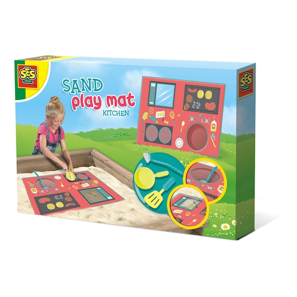 SES Creative - Children's Kitchen Sand Play Mat (Multi-colour)