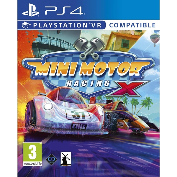 Mini Motor Racing X PS4 Game (PSVR Required)