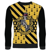 Harry Potter - Hufflepuff Unisex Christmas Jumper Small