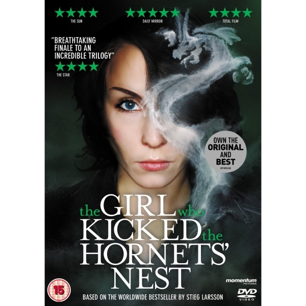 The Girl Who Kicked the Hornets Nest Swedish DVD