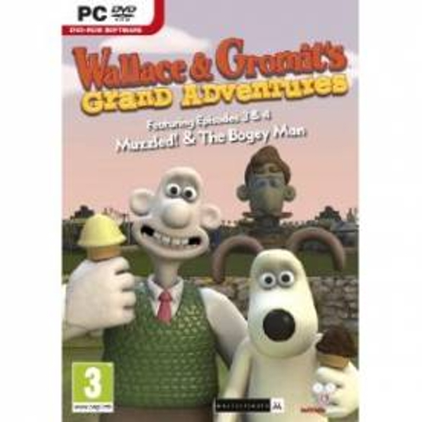 Wallace and Gromit Grand Adventures 3 and 4 Game PC