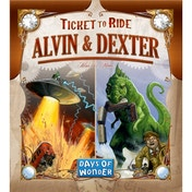 Ticket to Ride Alvin & Dexter Expansion Board Game