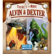 Ticket to Ride Alvin & Dexter Expansion