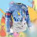 Adventure Time - Festive Winter Unisex Christmas Jumper XX-Large - Image 2