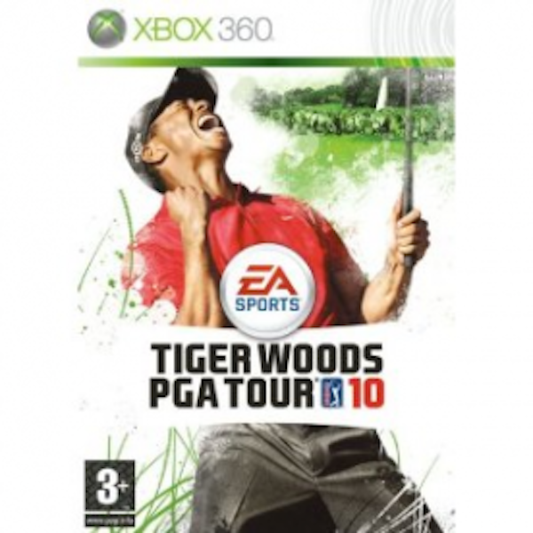 Tiger Woods PGA Tour 10 Game Xbox 360