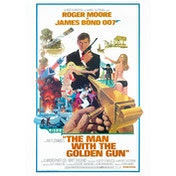 James Bond - The Man With The Golden Gun Postcard