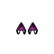 Razer Kitty Ears for Kraken Headset Neon Purple