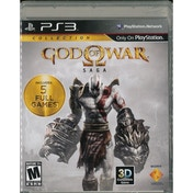 Ex-Display God Of War Saga Collection Game PS3 (#) Used - Like New