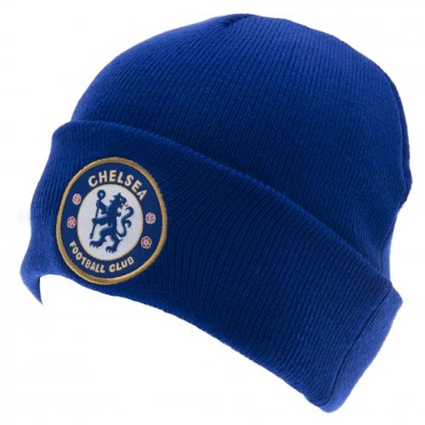 Chelsea FC Turn Up Knitted Hat