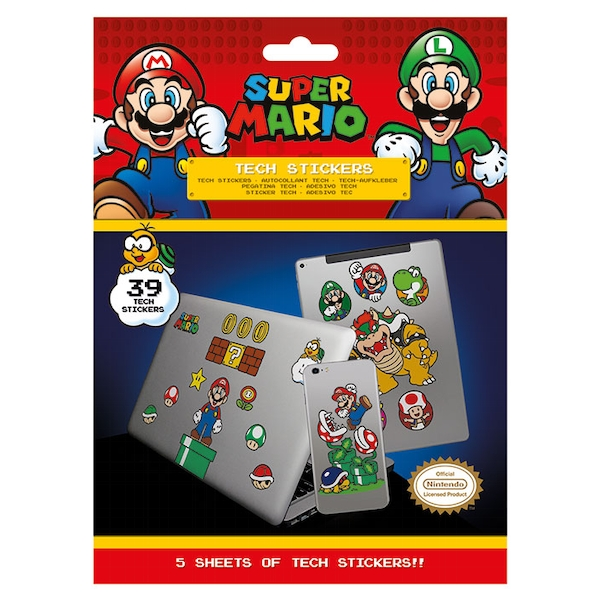 Super Mario - Mushroom Kingdom Sticker - Image 1