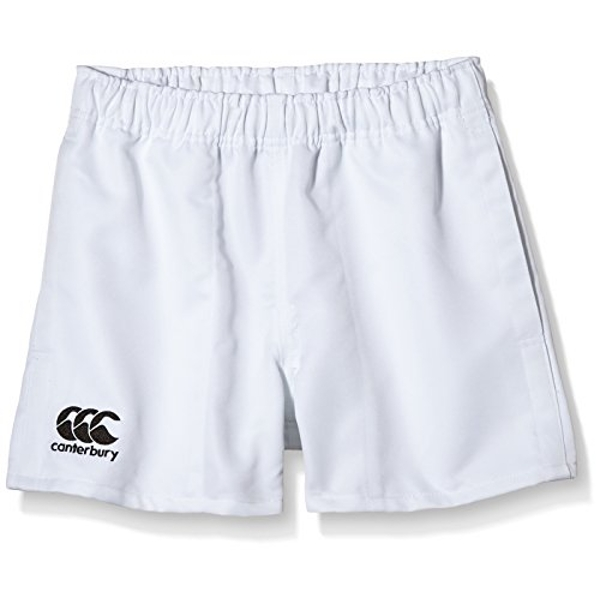 Canterbury Of New Zealand Boys Rugby Professional Polyester Shorts-White, Size 8, 8