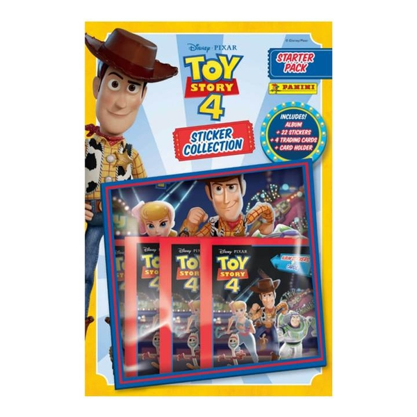 Toy Story 4 Sticker Collection Starter Pack