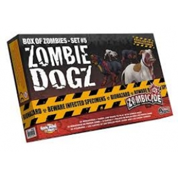 Ex-Display Zombicide Zombie Dogz Board Game Used - Like New