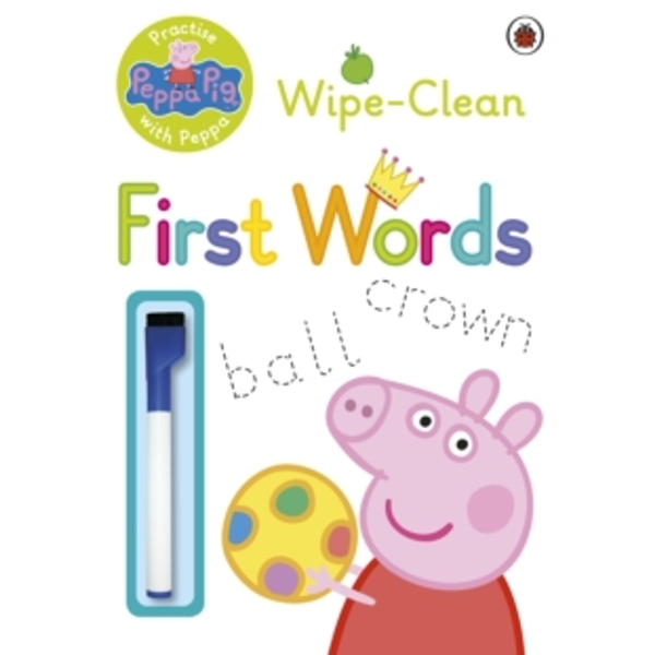 Peppa Pig: Practise with Peppa - Wipe-Clean First Words by Penguin Books Ltd (Paperback, 2015)