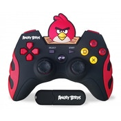 Ex-Display Angry Birds 2.4 ghz Rechargable Wireless Gamepad PS3 Used - Like New
