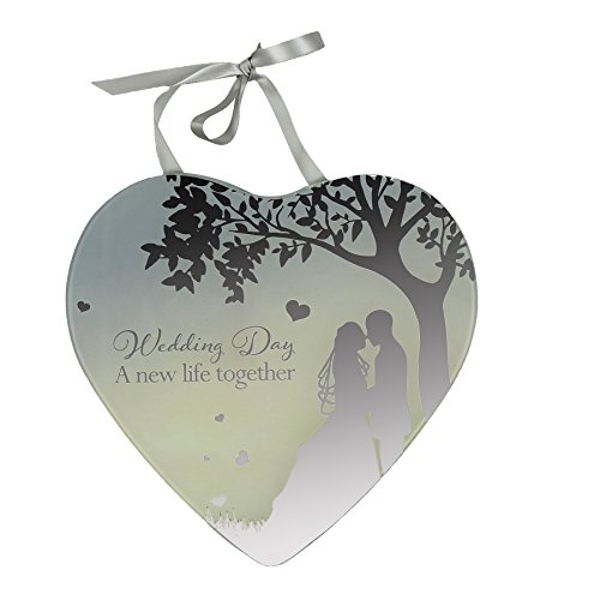 Reflections Of The Heart Wedding Day Plaque