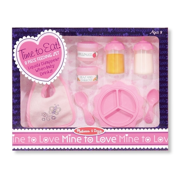 Mine to Love Time to Eat Feeding Set - Image 1