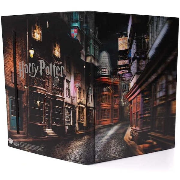 Diagon Alley (Harry Potter) 3DHD Notebook