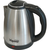 Infapower X503 1.8L 360 Degree Cordless Kettle 1800w Brushed Stainless Steel UK Plug