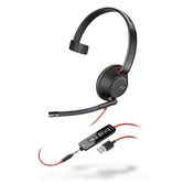 POLY Blackwire 5210 Headset Head-band USB Type-A Black