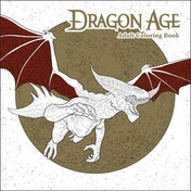 Dragon Age Adult Colouring Book Paperback