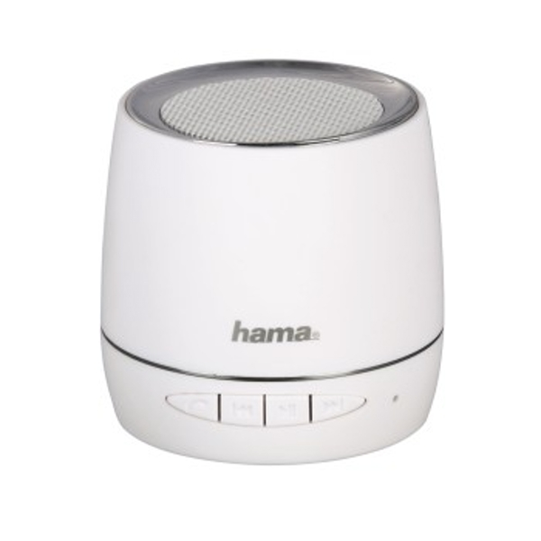 Hama Mobile Bluetooth Speaker, white