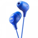 JVC HAFX38A Marshmallow Custom Fit In-Ear Headphones Blue