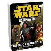 Star Wars Roleplaying Republic and Separatists 2 Adversary Deck