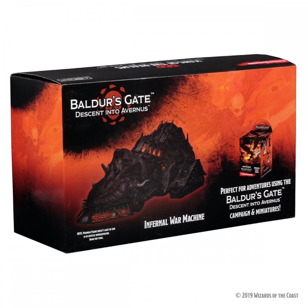 D&D Icons of the Realms: Baldur's Gate: Descent into Avernus- Infernal War Machine Premium Figure