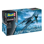 Focke Wulf Fw190 A-8/A-8 Nightfighter 1:32 Revell Model Kit