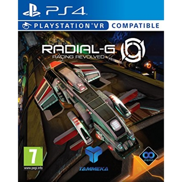 Radial G PS4 Game (PSVR Compatible)