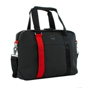Acme Made AM20111-HT North Point Attache Bag - Black/Tangerine